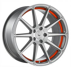 BARRACUDA PROJECT 2.0 Silver Brushed/ Undercut Color Trim Rot 19/8.5