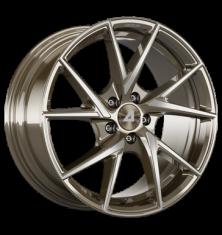 Alutec ADX.01 metallic-bronze-frontpoliert 18/8.5