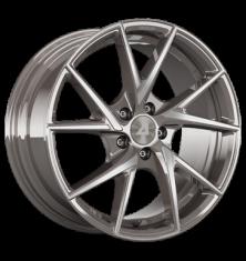 Alutec ADX.01 metallic-platinum-frontpoliert 20/8.5