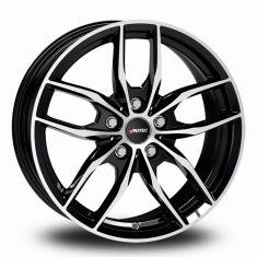 Autec Bavaris-Black-Polished Black-Polished 16/6,5