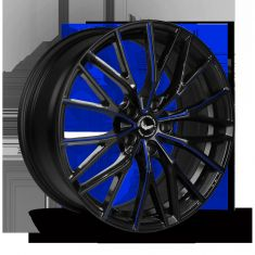 BARRACUDA PROJECT 3.0 Black Gloss Flashblue 20/8.5