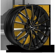 BARRACUDA PROJECT 3.0 Black Gloss Flashgold 18/8.5