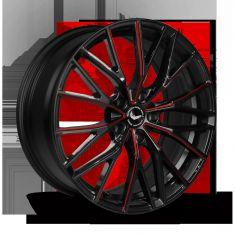 BARRACUDA PROJECT 3.0 Black Gloss Flashred 19/8.5