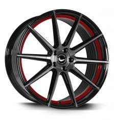 BARRACUDA PROJECT-2.0 Higloss-black-Brushed-Surface-undercut-Colour-Trim-Rot 21/10.5