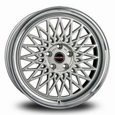 Borbet B Silver Polished silver rim polished 20/8.5