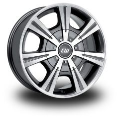 Borbet CH Antracite/Polished Anthracite Polished 17/7.5