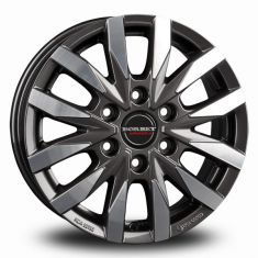 Borbet CW6 Antracite polished MISTRAL ANTHRACITE GLOSSY POLISHED 18/7.5