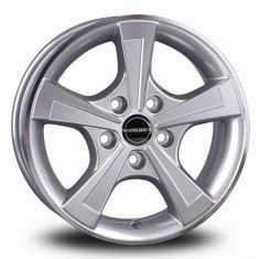 Borbet CWT Silver CRYSTAL SILVER 15/6