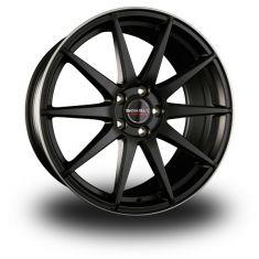 Borbet GTX Black Polished BLACK RIM POLISHED MATT 19/8.5