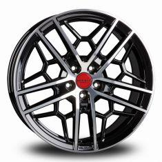 Borbet GTY Black Polished BLACK RIM POLISHED GLOSSY 19/8.5