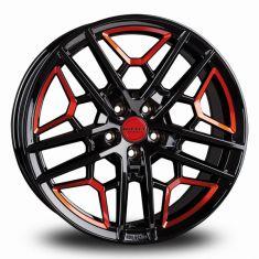 Borbet GTY Black Red BLACK RED GLOSSY 19/8.5