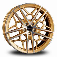 Borbet GTY Gold Polished GOLD POLISHED MATT 19/8.5