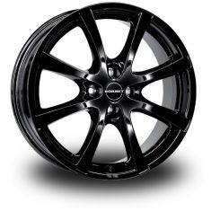 Borbet LV4 Black Black Glossy 17/7