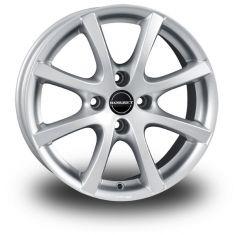 Borbet LV4 Silver CRYSTAL SILVER 16/7
