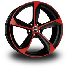 Borbet S BLACK RED Black Red 19/8,5