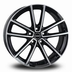 Borbet W Black Polished black polished glossy 18/8