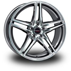 Borbet XRT GRAPHITE POLISHED 20/8.5