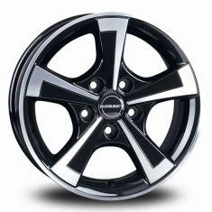 Borbet CWT Black Polished Black Glossy Polished 15/6