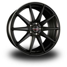 Borbet GTX-Black-Polished Black-Rim-Polished-Matt 19/9,5