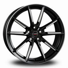 Borbet LX Black Polished Black Matt Spoke Rim Polished 19/8