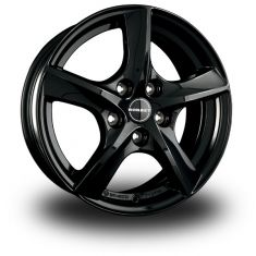 Borbet TL5 Black Black Glossy 17/7