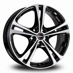 Borbet XL Black Polished Black Polished 17/7,5
