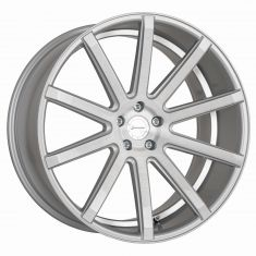 CORSPEED DEVILLE Silver-brushed-surface--Undercut-Color-Trim-Weiß 20/10.5