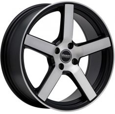 Ocean Wheels Cruise Matt Black Polish 17/7.5
