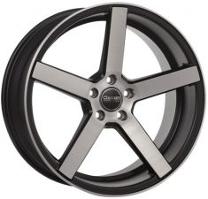 Ocean Wheels Cruise Concave Matt black polish 19/8.5
