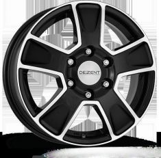 DEZENT Van dark Black/polished 16065