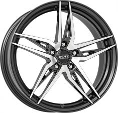 DOTZ Interlagos dark Gunmetal/polished 18075