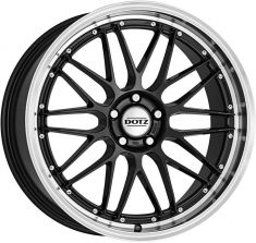 DOTZ Revvo dark Gunmetal/polished lip 20085