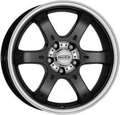 DOTZ 4X4 Crunch Black-polished 16080