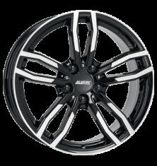 Alutec Drive diamant-schwarz-frontpoliert 17/7.5