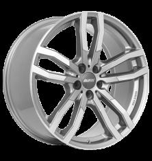 Alutec Drive-X metal-grau-frontpoliert 20/9.0