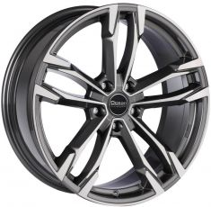 Ocean Wheels F5 Antracit polish 19/9.5