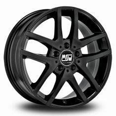 MSW 28 Black GLOSS BLACK 17/7