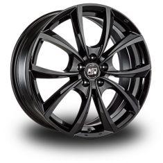 MSW 27 Black Gloss Black 17/7,5