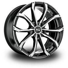 MSW 48-Black-Polished Gloss-Black-Full-Polished 18/8