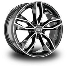 MSW 71-Dark-Grey-Polished Gloss-Dark-Grey-Full-Polished 19/8