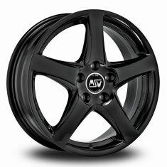 MSW 78-Black Gloss-Black 17/6,5