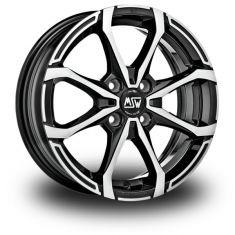 MSW X4-Black-Polished Gloss-Black-Full-Polished 16/7