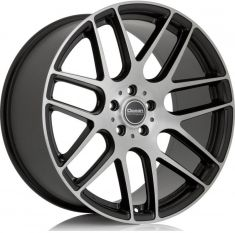 Ocean Wheels Caribien Matt black polish 18/8.5