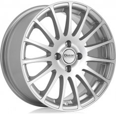 Ocean Wheels Fashion Silver 15/6.5