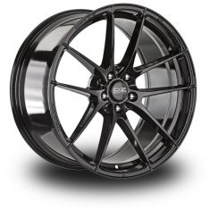OZ Leggera HLT Black GLOSS BLACK 19/8.5