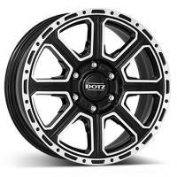 DOTZ 4X4 Kalahari-dark Black-polished 17080