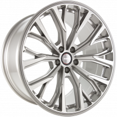 MOMO RF02 Titan Silver Brushed 20/9