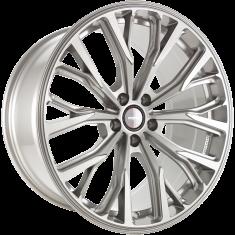 MOMO RF02 Titan Silver Brushed 20/10