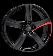 Alutec Shark racing-black-pad-red 18/8.0
