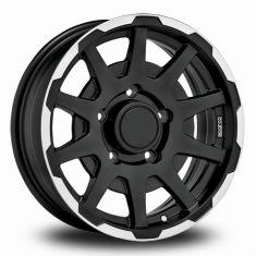 Sparco Dakar-Black-Polished Matt-Black-Polished 16/5,5